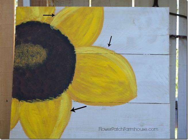 paint a sunflower tutorial 14