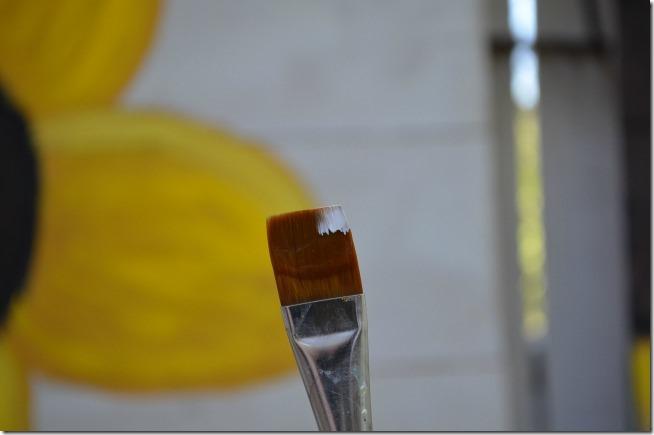 paint a sunflower tutorial 16