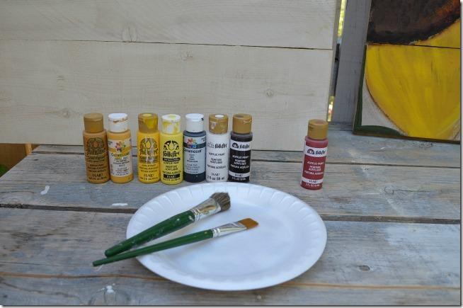 paint a sunflower tutorial 2