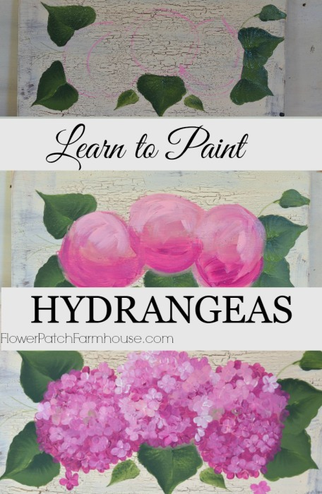 Learn to paint hydrangeas the fast and easy way flower for How to learn to paint