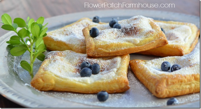 cheese danish recipe, FlowerPatchFarmhouse.com