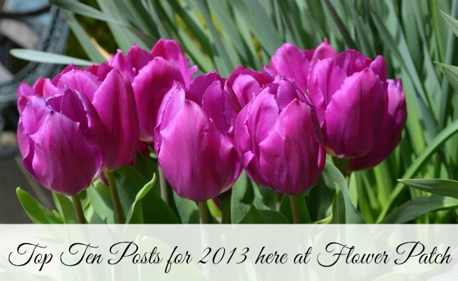 Top Ten posts at Flower Patch