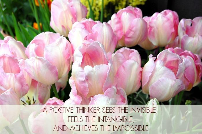 Positve Thinking Inspirational Quote