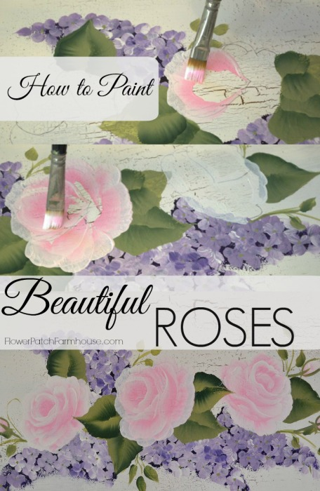 Paint pretty pink roses for How to paint a rose in watercolor step by step