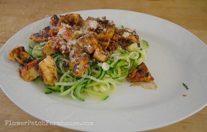 zucchini pasta, veggie noodles4