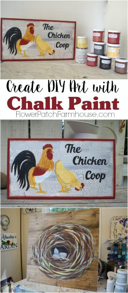 Create DIY Art with Chalk Paint