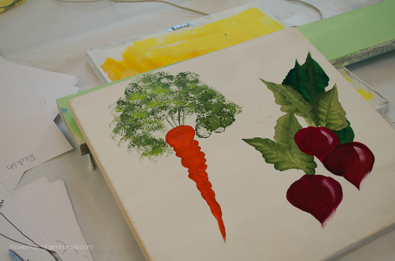 Radish & Carrot Painting, FlowerPatchFarmhouse.com (29 of 36)