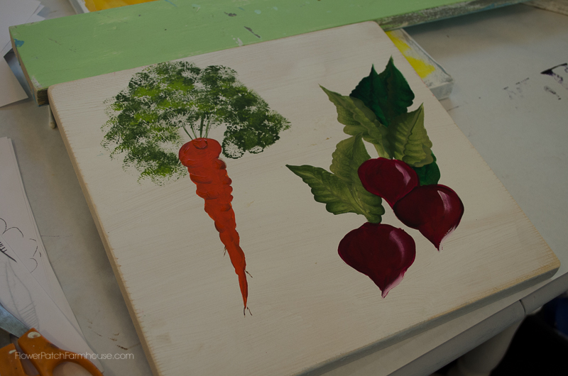 Radish & Carrot Painting, FlowerPatchFarmhouse.com (32 of 36)