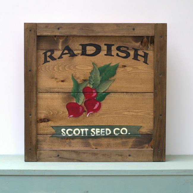Learn How to Paint a Radish, FlowerPatchFarmhouse.com