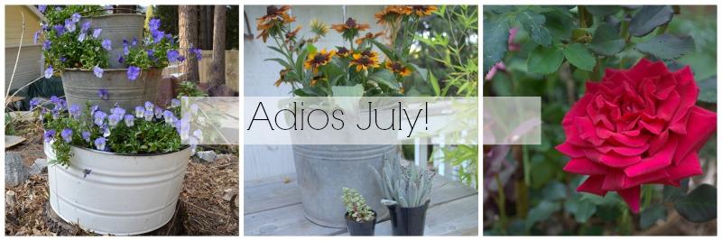 What a Great July, FlowerPatchFarmhouse.com