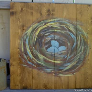 FlowerPatchFarmhouse Nest Painting