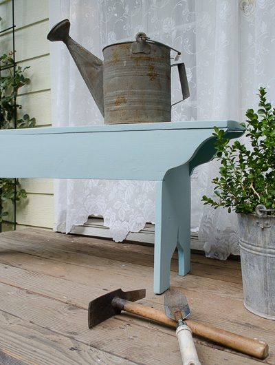 DIY How to Build a Victorian Garden Bench
