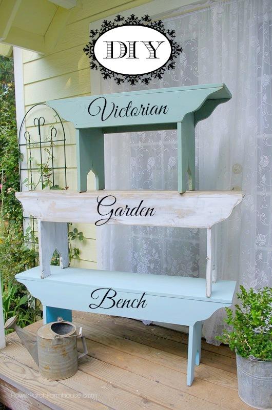 Victorian Garden Bench F1 (15 of 23)
