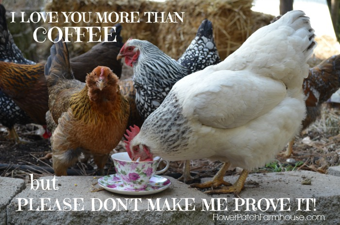 I Love You More Than Coffee, FlowerPatchFarmhouse.com