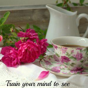 Tea cup and roses, FlowerPatchFarmhouse.com