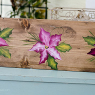 Learn How to Paint Poinsettias