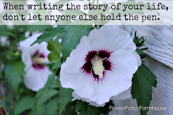 Writing the Story of your Life inspiration, FlowerPatchFarmhouse.com