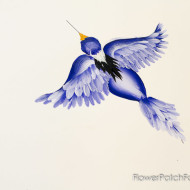 How to Paint a Flying Bird