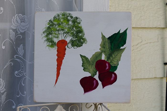 Learn How to Paint a Carrot, fast, easy and fun! FlowerPatchFarmhouse.com
