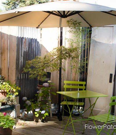 Relaxing Back Porch Garden room