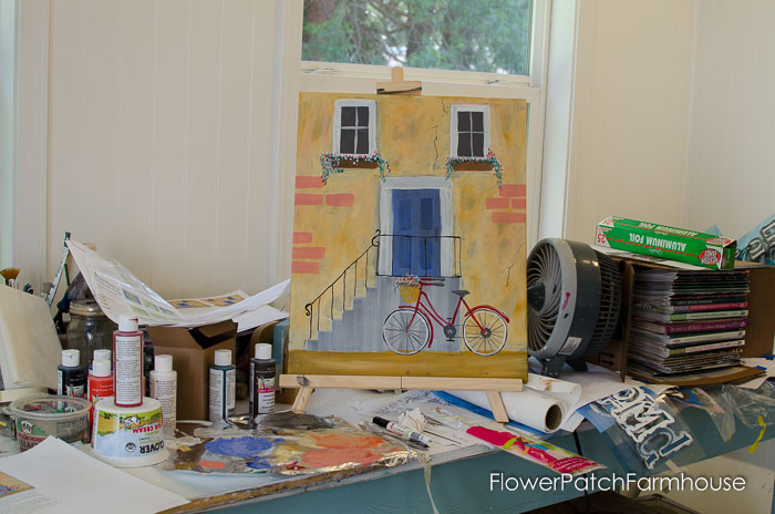Practice painting.