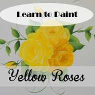 Learn How to Paint Yellow Roses DVD