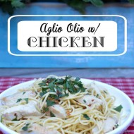 Aglio Olio with Delicious Chicken