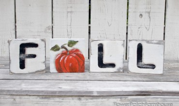Fun DIY Scrabble Tile Art for Fall!