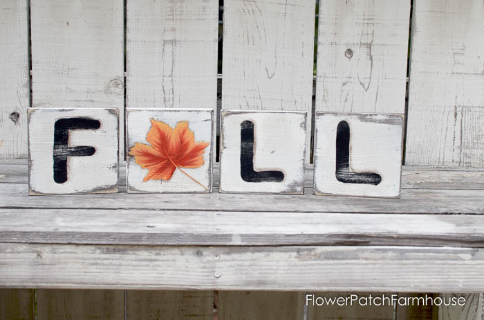 DIY Fall Scrabble Tiles on Scrap Wood, FlowerPatchFarmhouse.com-0083