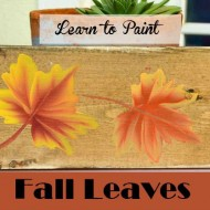 Learn How to Paint Colorful Fall Leaves