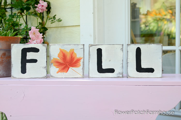 paint Fall scrabble squares, fun for your decor, FlowerPatchFarmhouse.com (9 of 9)