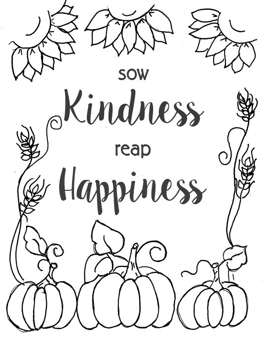 Coloring Pages Fall Printable