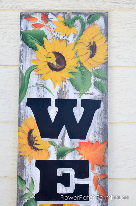 Large Fall Welcome sign, FlowerPatchFarmhouse.com (4 of 7)