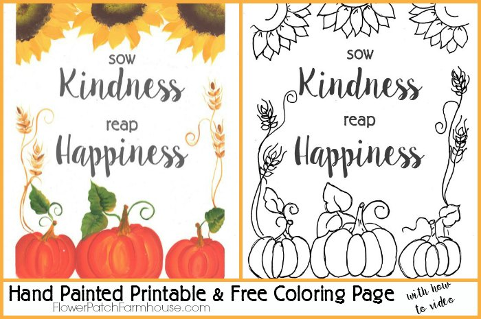 Free Fall Printable Coloring Page