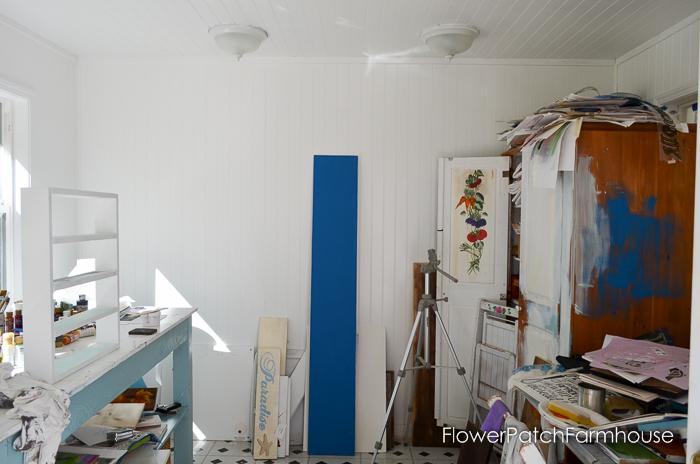 studio progress and bench, FlowerPatchFarmhouse.com (4 of 20)