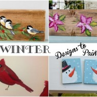 Fun Winter Painting Designs