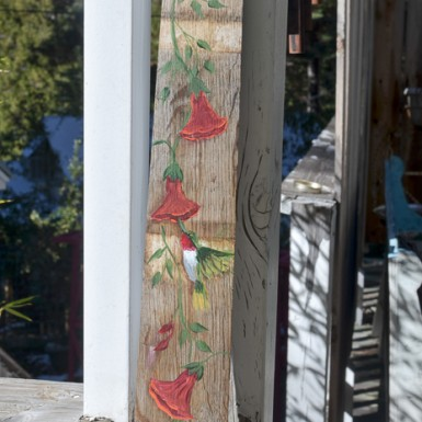 Hand Painted Hummingbird on Barrel Stave, FlowerPatchFarmhouse.com (18 of 24)