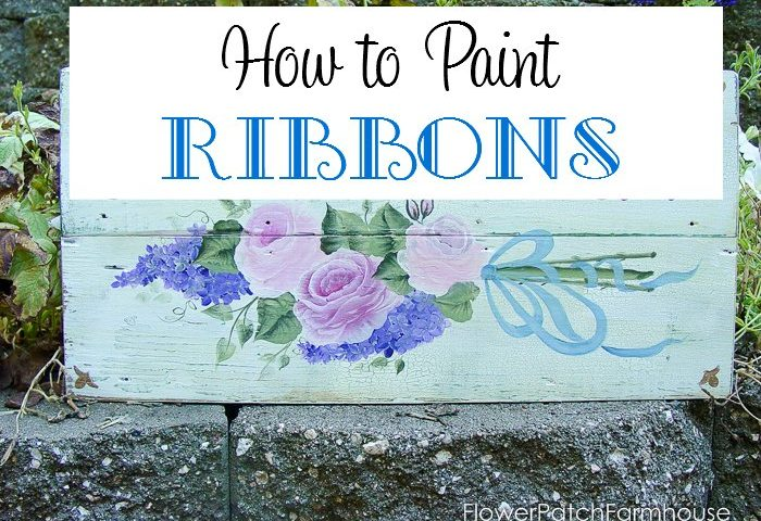 How to Paint Ribbon