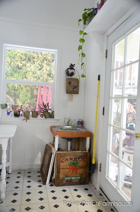 She Shed Studio Cottage Interior, FlowerPatchFarmhouse.com (2 of 10)