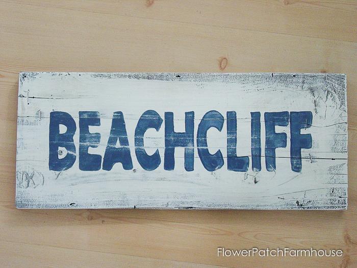 Coastal Beach Signs
