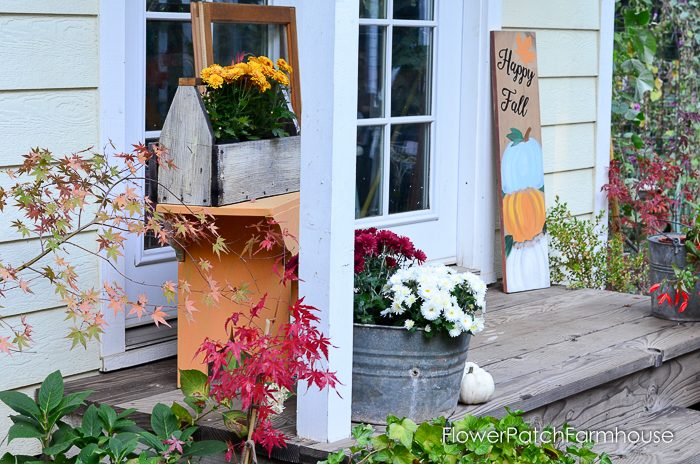 Fall at the Studio Cottage She Shed