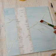 How to Paint an Aspen Tree