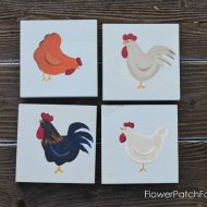 How to Paint Fun Chickens