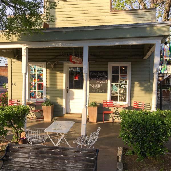 visit to Fredericksburg Texas tasting room