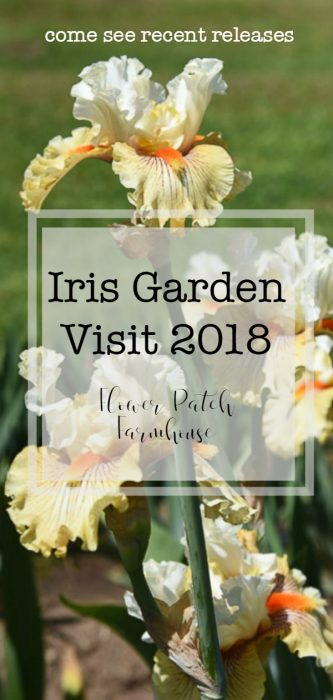 Iris Garden Visit 2018, new varieties and colors of Iris recently released for purchase. come see them all