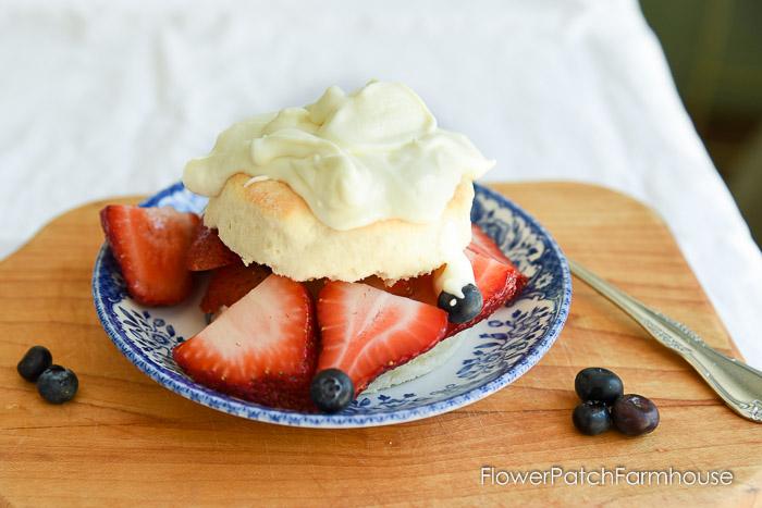 Buttermilk Strawberry Shortcakes