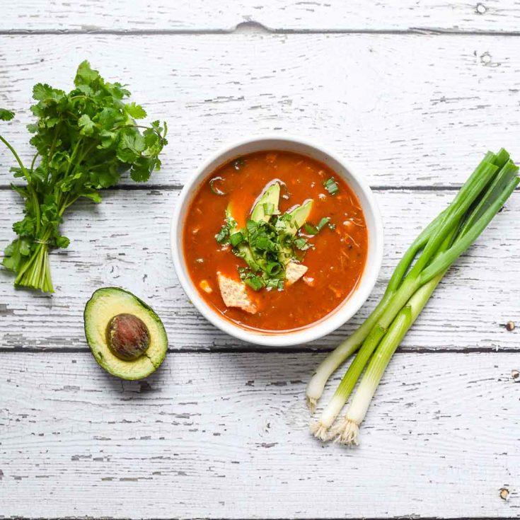 Best Instant Pot Chicken Tortilla Soup